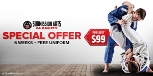 Barrie Brazilian Jiu Jitsu special offer
