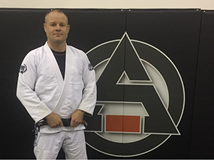 Barrie BJJ instructor Spencer